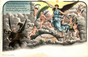 SU- Postkarte Neujahr DE-002 - 1880