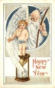 SU- Postkarte Neujahr US-038 - 1913